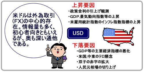 通貨の王様 米ドル